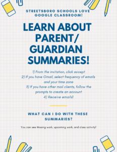 google classroom setup flyer