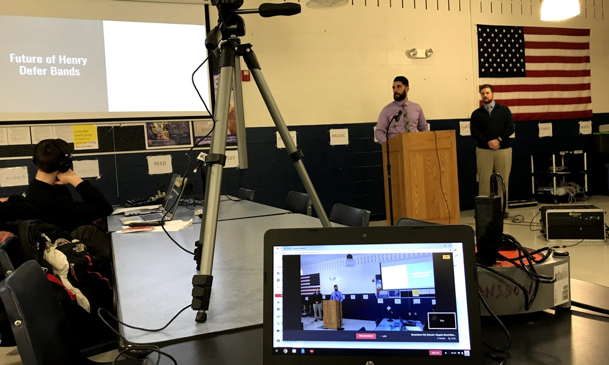 Board Meeting Recording and Streaming